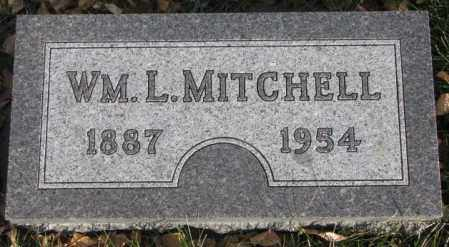 MITCHELL, WM. L. - Cedar County, Nebraska | WM. L. MITCHELL - Nebraska Gravestone Photos