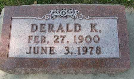 MORRIS, DERALD K. - Cedar County, Nebraska | DERALD K. MORRIS - Nebraska Gravestone Photos