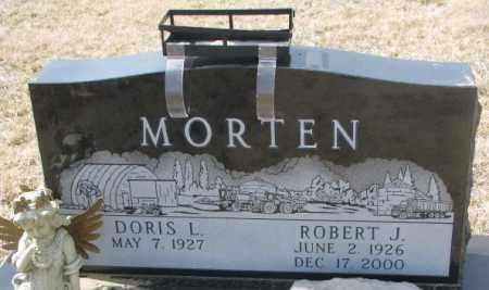 MORTEN, ROBERT J. - Cedar County, Nebraska   ROBERT J. MORTEN - Nebraska Gravestone Photos