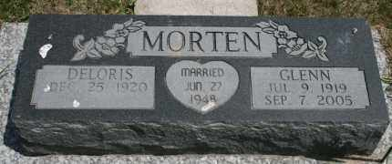 MORTEN, DELORIS - Cedar County, Nebraska | DELORIS MORTEN - Nebraska Gravestone Photos