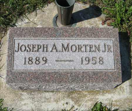 MORTEN JR., JOSEPH A. - Cedar County, Nebraska | JOSEPH A. MORTEN JR. - Nebraska Gravestone Photos