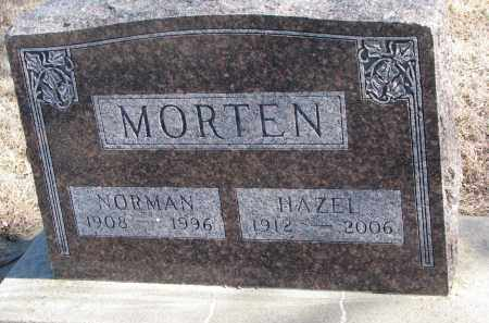 MORTEN, HAZEL - Cedar County, Nebraska | HAZEL MORTEN - Nebraska Gravestone Photos