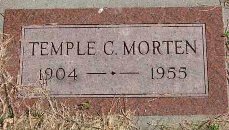 MORTEN, TEMPLE C. - Cedar County, Nebraska | TEMPLE C. MORTEN - Nebraska Gravestone Photos