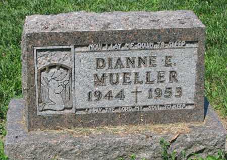 MUELLER, DIANNE E. - Cedar County, Nebraska | DIANNE E. MUELLER - Nebraska Gravestone Photos