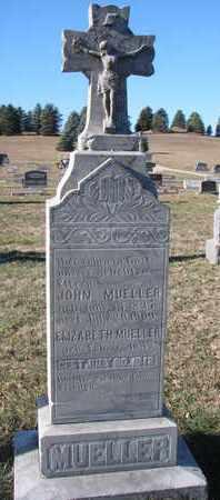 MUELLER, ELIZABETH - Cedar County, Nebraska   ELIZABETH MUELLER - Nebraska Gravestone Photos