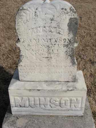 MUNSON, ANNA R. - Cedar County, Nebraska | ANNA R. MUNSON - Nebraska Gravestone Photos