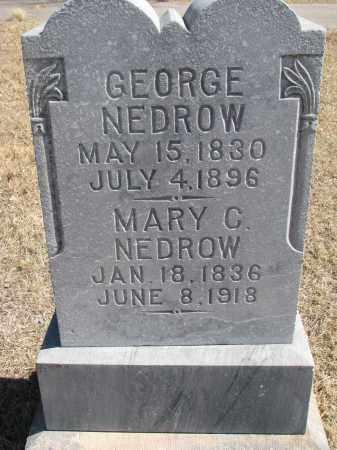 NEDROW, MARY C. - Cedar County, Nebraska | MARY C. NEDROW - Nebraska Gravestone Photos