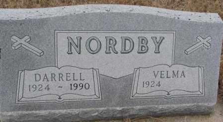 NORDBY, DARRELL - Cedar County, Nebraska | DARRELL NORDBY - Nebraska Gravestone Photos
