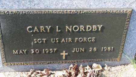 NORDBY, GARY L. (MILITARY) - Cedar County, Nebraska | GARY L. (MILITARY) NORDBY - Nebraska Gravestone Photos