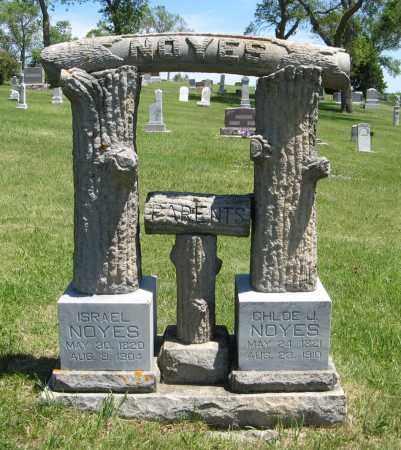NOYES, CHLOE J. - Cedar County, Nebraska | CHLOE J. NOYES - Nebraska Gravestone Photos
