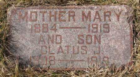 OBERT, MARY - Cedar County, Nebraska | MARY OBERT - Nebraska Gravestone Photos