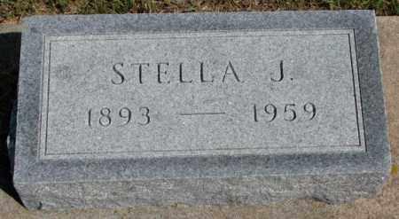 OBERT, STELLA J. - Cedar County, Nebraska | STELLA J. OBERT - Nebraska Gravestone Photos