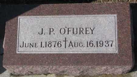 O'FUREY, J.P. - Cedar County, Nebraska | J.P. O'FUREY - Nebraska Gravestone Photos