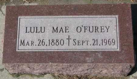 O'FUREY, LULU MAE - Cedar County, Nebraska   LULU MAE O'FUREY - Nebraska Gravestone Photos