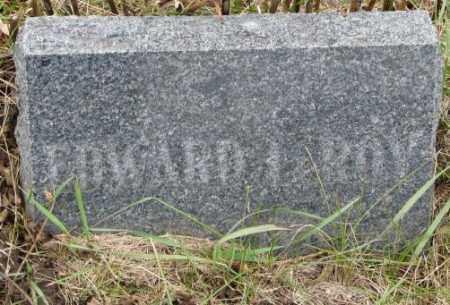OLSON, EDWARD LEROY - Cedar County, Nebraska   EDWARD LEROY OLSON - Nebraska Gravestone Photos