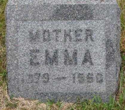 OLSON, EMMA - Cedar County, Nebraska | EMMA OLSON - Nebraska Gravestone Photos
