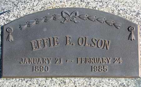 OLSON, EFFIE E. - Cedar County, Nebraska | EFFIE E. OLSON - Nebraska Gravestone Photos