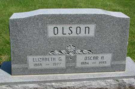 OLSON, OSCAR A. - Cedar County, Nebraska | OSCAR A. OLSON - Nebraska Gravestone Photos