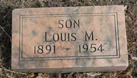 NORDBY, LOUIS M. - Cedar County, Nebraska   LOUIS M. NORDBY - Nebraska Gravestone Photos