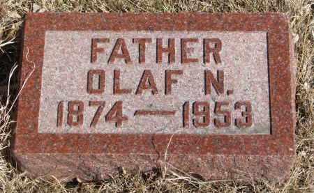 OLSON, OLAF N. - Cedar County, Nebraska | OLAF N. OLSON - Nebraska Gravestone Photos