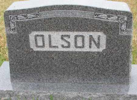 OLSON, PLOT - Cedar County, Nebraska | PLOT OLSON - Nebraska Gravestone Photos