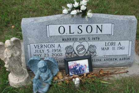 OLSON, VERNON A. - Cedar County, Nebraska | VERNON A. OLSON - Nebraska Gravestone Photos