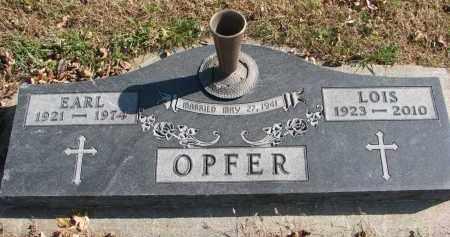 OPFER, LOIS - Cedar County, Nebraska   LOIS OPFER - Nebraska Gravestone Photos