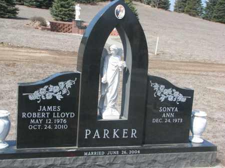 PARKER, SONYA ANN - Cedar County, Nebraska | SONYA ANN PARKER - Nebraska Gravestone Photos