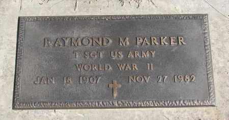 PARKER, RAYMOND M. (WW II) - Cedar County, Nebraska | RAYMOND M. (WW II) PARKER - Nebraska Gravestone Photos