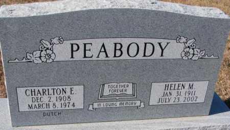 PEABODY, HELEN M. - Cedar County, Nebraska | HELEN M. PEABODY - Nebraska Gravestone Photos