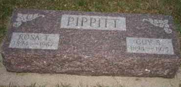 PIPPITT, GUY S - Cedar County, Nebraska | GUY S PIPPITT - Nebraska Gravestone Photos