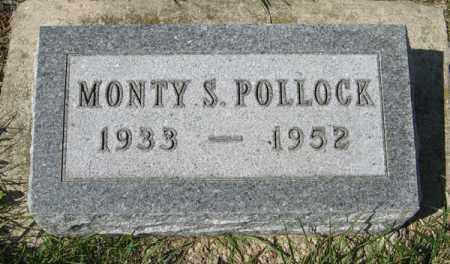 POLLOCK, MONTY S. - Cedar County, Nebraska | MONTY S. POLLOCK - Nebraska Gravestone Photos
