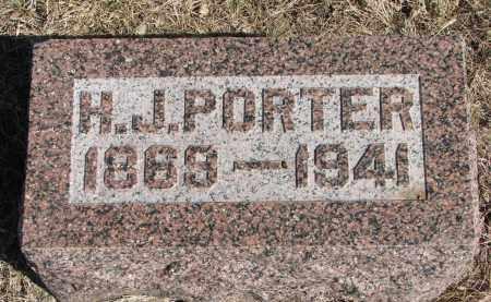 PORTER, H.P. - Cedar County, Nebraska | H.P. PORTER - Nebraska Gravestone Photos