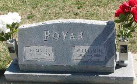 POYAR, WILLIAM H. - Cedar County, Nebraska | WILLIAM H. POYAR - Nebraska Gravestone Photos