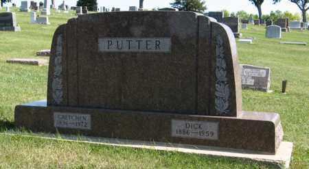 PUTTER, GRETCHEN - Cedar County, Nebraska | GRETCHEN PUTTER - Nebraska Gravestone Photos