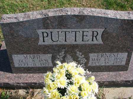 PUTTER, MARIE - Cedar County, Nebraska   MARIE PUTTER - Nebraska Gravestone Photos