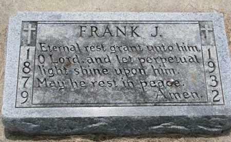 REIFENRATH, FRANK J. - Cedar County, Nebraska | FRANK J. REIFENRATH - Nebraska Gravestone Photos