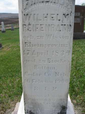 REIFENRATH, FREDRICH W. (CLOSEUP) - Cedar County, Nebraska | FREDRICH W. (CLOSEUP) REIFENRATH - Nebraska Gravestone Photos