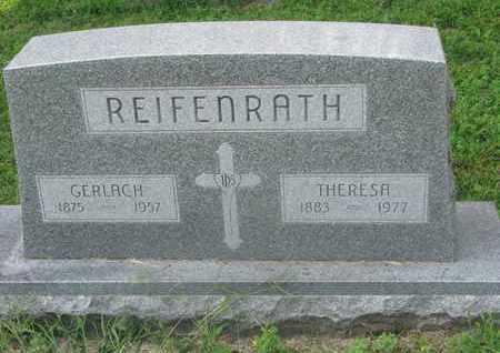 REIFENRATH, GERLACH - Cedar County, Nebraska | GERLACH REIFENRATH - Nebraska Gravestone Photos
