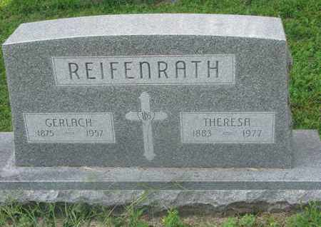 REIFENRATH, THERESA - Cedar County, Nebraska | THERESA REIFENRATH - Nebraska Gravestone Photos