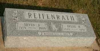 REIFENRATH, IRENE M - Cedar County, Nebraska | IRENE M REIFENRATH - Nebraska Gravestone Photos