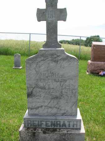 REIFENRATH, MARIA - Cedar County, Nebraska   MARIA REIFENRATH - Nebraska Gravestone Photos