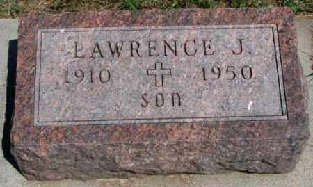 REKER, LAWRENCE J. - Cedar County, Nebraska   LAWRENCE J. REKER - Nebraska Gravestone Photos
