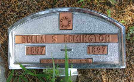 REMINGTON, DELLA S. - Cedar County, Nebraska   DELLA S. REMINGTON - Nebraska Gravestone Photos