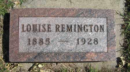 REMINGTON, LOUISE - Cedar County, Nebraska | LOUISE REMINGTON - Nebraska Gravestone Photos