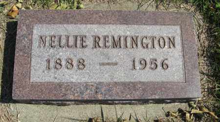 REMINGTON, NELLIE - Cedar County, Nebraska | NELLIE REMINGTON - Nebraska Gravestone Photos