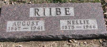RIIBE, NELLIE - Cedar County, Nebraska | NELLIE RIIBE - Nebraska Gravestone Photos