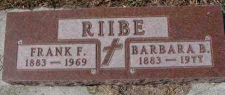 RIIBE, BARBARA B. - Cedar County, Nebraska   BARBARA B. RIIBE - Nebraska Gravestone Photos