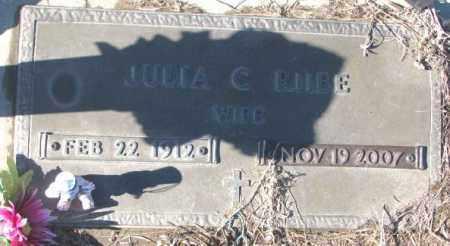 RIIBE, JULIA C. - Cedar County, Nebraska | JULIA C. RIIBE - Nebraska Gravestone Photos