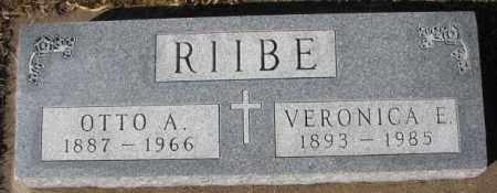 RIIBE, VERONICA E. - Cedar County, Nebraska   VERONICA E. RIIBE - Nebraska Gravestone Photos